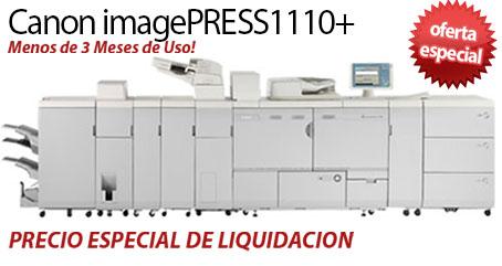 Comprar una Canon imagePRESS 1110+