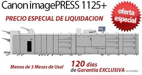 Comprar una Canon imagePRESS 1125+