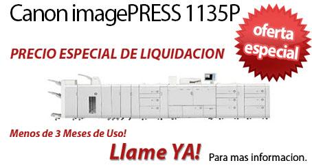 Comprar una Canon imagePRESS 1135P