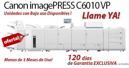 Comprar una Canon imagePRESS C6010VP