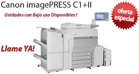 Comprar una Canon imagePRESS C1+II