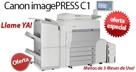 Comprar una Canon imagePRESS C1