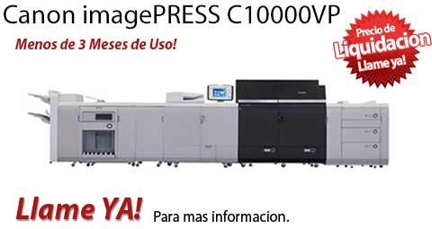Comprar una Canon imagePRESS C10000VP