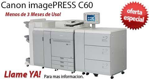 Comprar una Canon imagePRESS C60