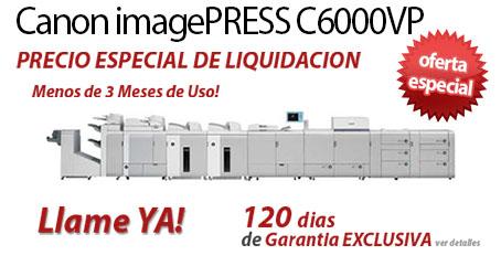 Comprar una Canon imagePRESS C6000VP