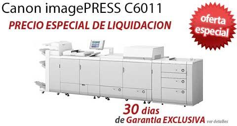 Comprar una Canon imagePRESS C6011