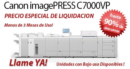 Comprar una Canon imagePRESS C7000VP