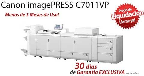 Comprar una Canon imagePRESS C7011VP