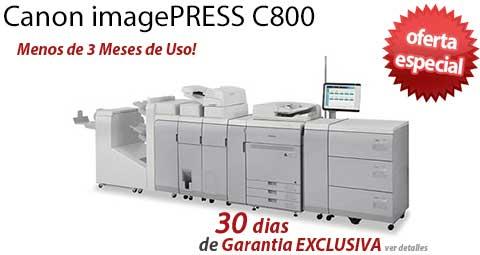 Comprar una Canon imagePRESS C800