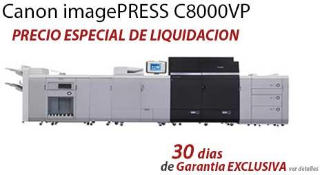 Comprar una Canon imagePRESS C8000VP