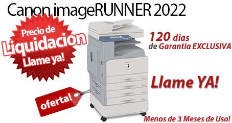 Comprar una Canon imageRUNNER 2022