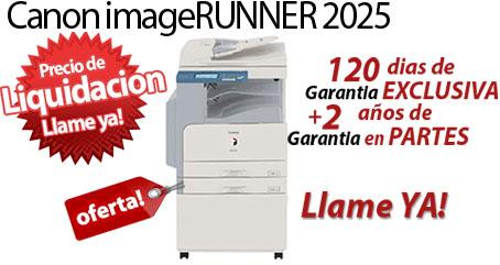 Comprar una Canon imageRUNNER 2025i