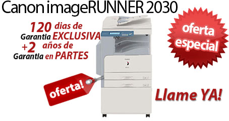 Comprar una Canon imageRUNNER 2030i