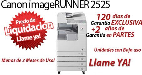 Comprar una Canon imageRUNNER 2525