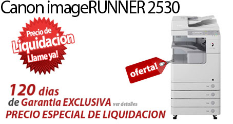 Comprar una Canon imageRUNNER 2530