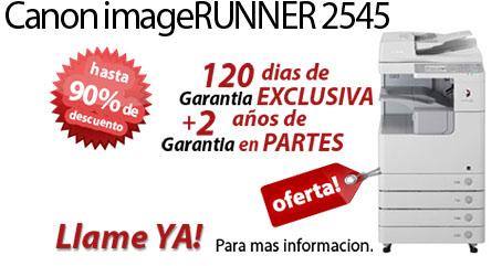 Comprar una Canon imageRUNNER 2545