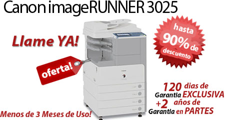 Comprar una Canon imageRUNNER 3025