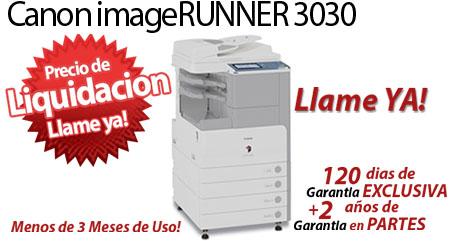 Comprar una Canon imageRUNNER 3030