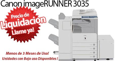 Comprar una Canon imageRUNNER 3035