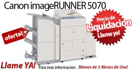 Comprar una Canon imageRUNNER 5070