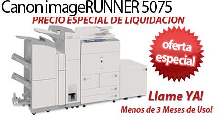 Comprar una Canon imageRUNNER 5075