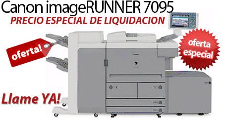 Comprar una Canon imageRUNNER 7095