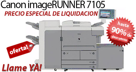 Comprar una Canon imageRUNNER 7105