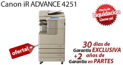 Comprar una Canon imageRUNNER ADVANCE 4251