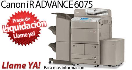 Comprar una Canon imageRUNNER ADVANCE 6075