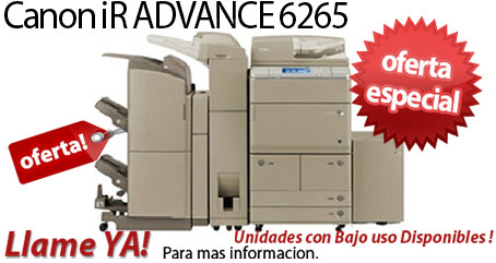 Comprar una Canon imageRUNNER ADVANCE 6265