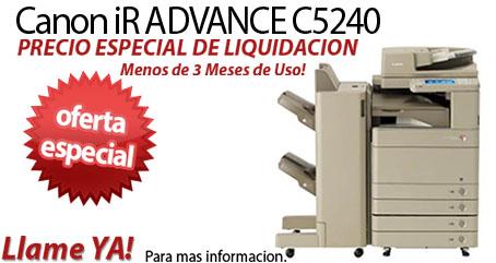 Comprar una Canon imageRUNNER ADVANCE C5240