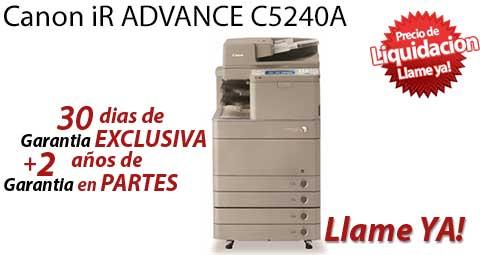 Comprar una Canon imageRUNNER ADVANCE C5240A
