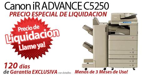 Comprar una Canon imageRUNNER ADVANCE C5250