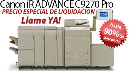 Comprar una Canon imageRUNNER ADVANCE C9270 PRO