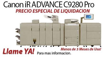 Comprar una Canon imageRUNNER ADVANCE C9280 PRO