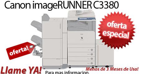 Comprar una Canon Color imageRUNNER C3380