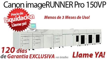 Comprar una Canon imageRUNNER Pro 150VP