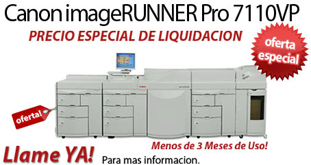 Comprar una Canon imageRUNNER Pro 7110VP