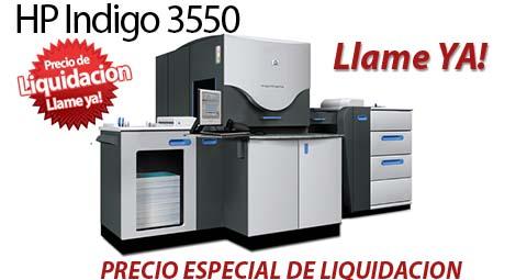 Comprar una HP Indigo 3550 Digital Press