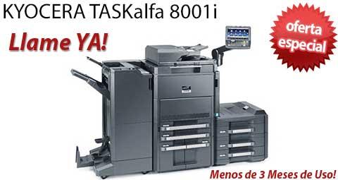 Comprar una Kyocera TASKalfa 8001i