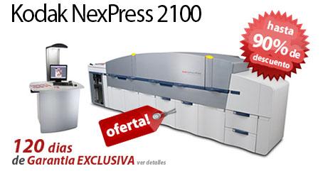 Comprar una Kodak Nexpress 2100