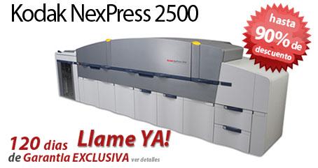 Comprar una Kodak NexPress SE2500 Digital Production Color Press