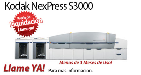 Comprar una Kodak NexPress SE3000 Digital Production Color Press