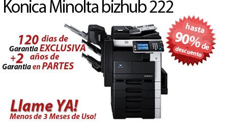 Comprar una Konica Minolta bizhub 222