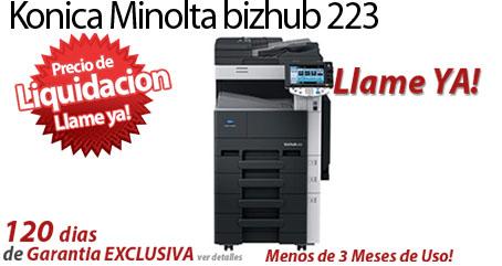 Comprar una Konica Minolta bizhub 223