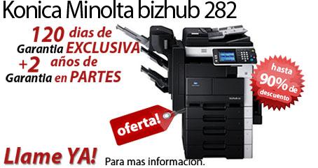 Comprar una Konica Minolta bizhub 282