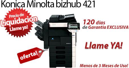Comprar una Konica Minolta bizhub 421