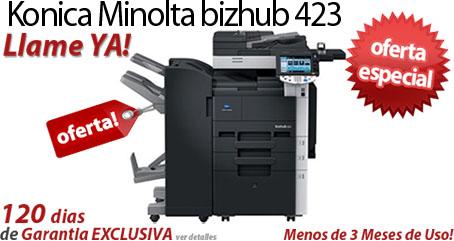 Comprar una Konica Minolta bizhub 423