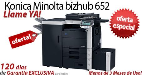 Comprar una Konica Minolta bizhub 652
