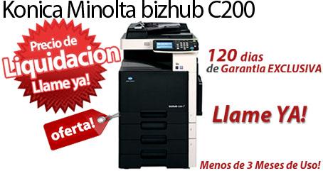 Comprar una Konica Minolta bizhub C200